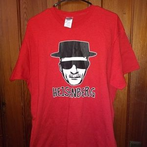 BREAKING BAD T-SHIRT 👕 HEISENBERG Face Tee TV XL